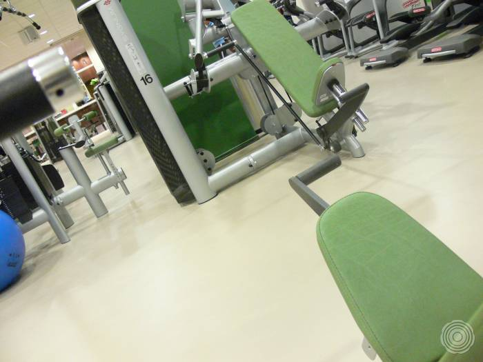 elastic finish sensos sports and wellness floors are suitabl