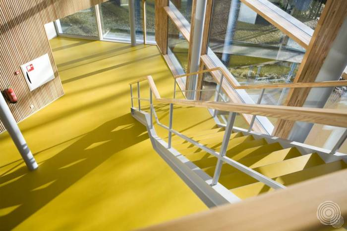 high quality workmanship senso school floors are finished wi