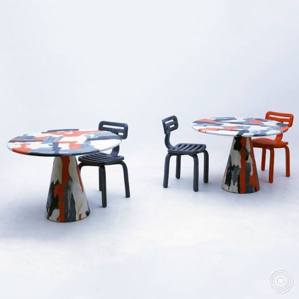Melting Pot Tables by Dirk van der Kooij