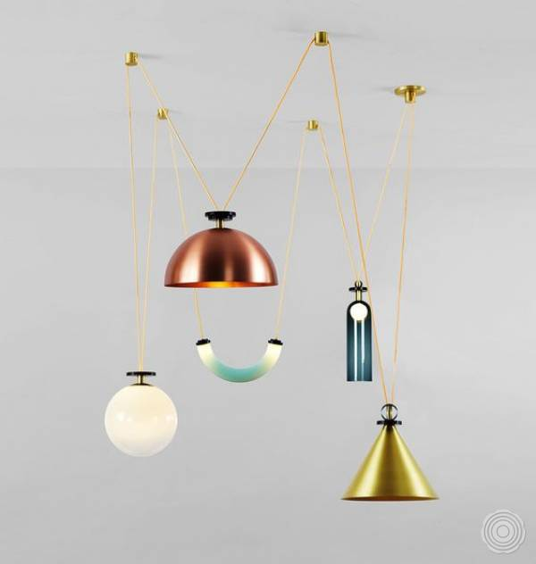 Shape Up Chandelier by Ladies & Gentlemen Studio