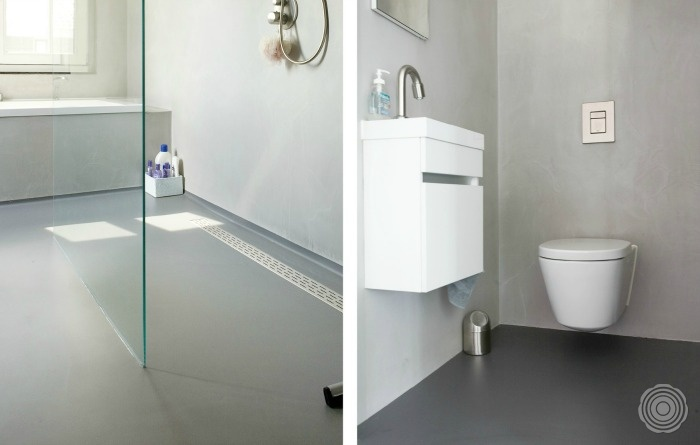 Contemporary home senso resin flooring