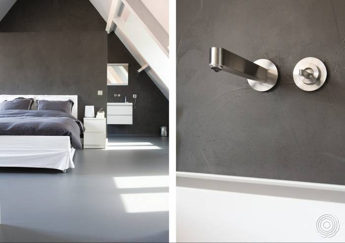 seamless wall finish senso can also combine your bathrooms r